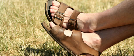 Foot Gay In Man Pic Sandal
