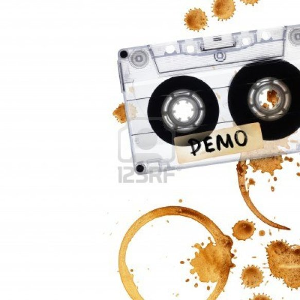 9928512-vintage-demo-tape-with-coffee-stains-isolated-on-white-background