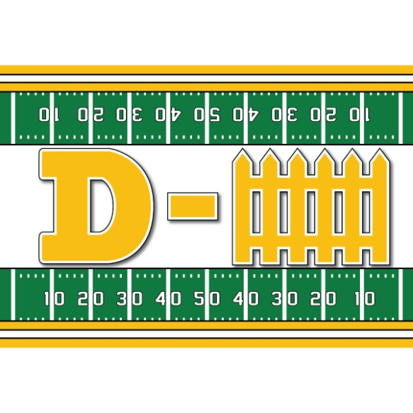 36307--Yellow-Gold-Defense-Football-Sign600x600