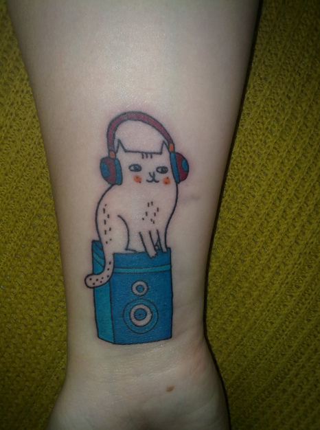 gemma-correll-music-cat-tattoo