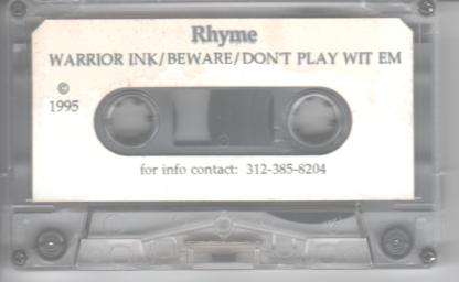 rhyme-warrior-ink-demo-tape