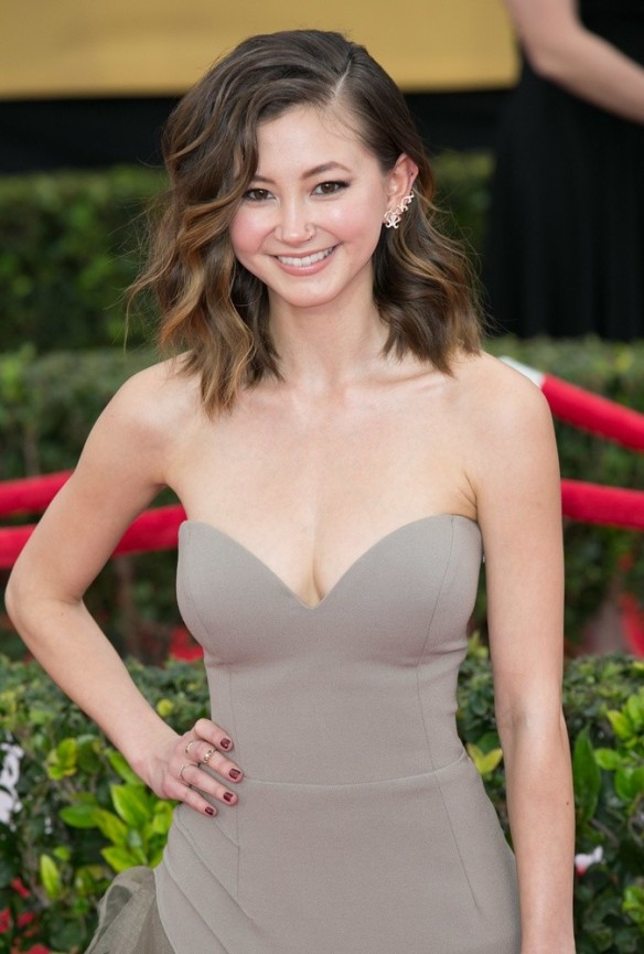 21st Annual SAG Awards at the Shrine Auditorium - Arrivals Featuring: Kimiko Glenn Where: Los Angeles, California, United States When: 25 Jan 2015 Credit: Brian To/WENN.com