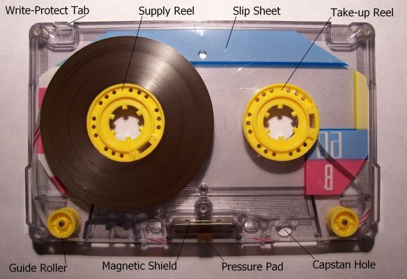 Memorex_Compact_Cassette_opened
